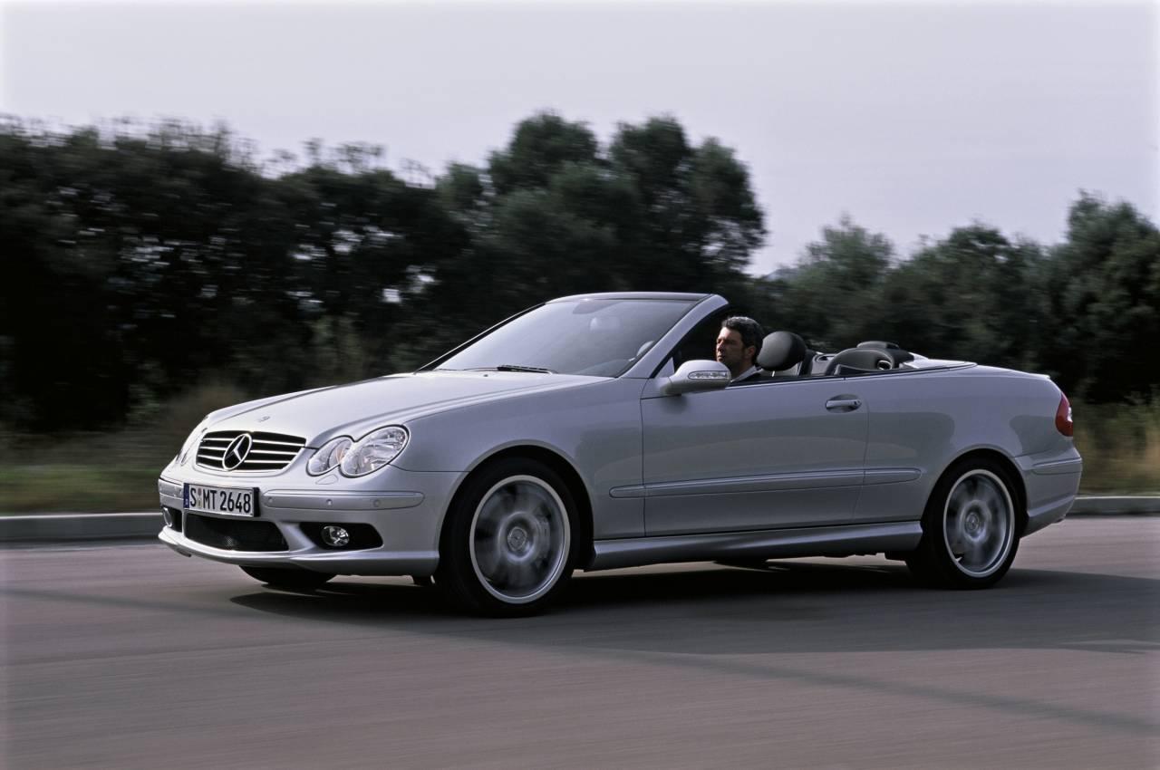 Mercedes benz clk 55 amg cabriolet 2004 for The biggest mercedes benz
