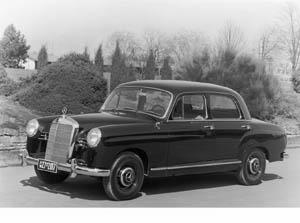 Mercedes-Benz 180 Ponton (1953)