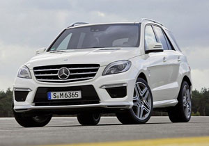 Mercedes Benz ML63 AMG (2012)