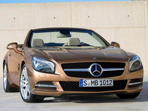Родстер Mercedes-Benz SL (2012)