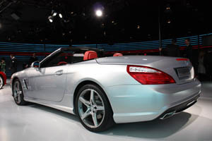 Премьера родстера Mercedes-Benz SL (2012)