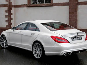 Mercedes CLS63 AMG Red and White от Carlsson (2012)