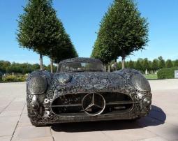 Mercedes-Benz из металлических отходов
