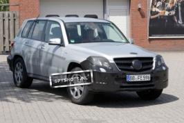 Шпионские фото Mercedes-Benz GLK-Class (2012)