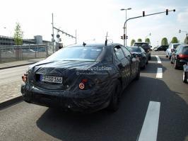 Шпионские фото Mercedes Benz S-Класс (2011)