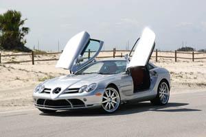 Mercedes-Benz SLR стал рекордсменом Книги рекордов Гиннесса
