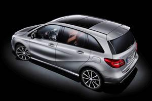 Mercedes поделился деталями о будущем хэтчбеке B-Class