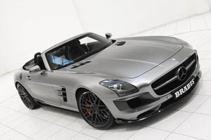 Тюнера из Brabus добрались до Mercedes-Benz SLS AMG Roadster